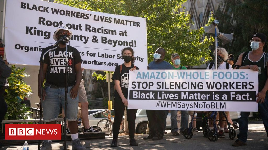 Amazon-owned Whole Foods in Black Lives Matter legal claim