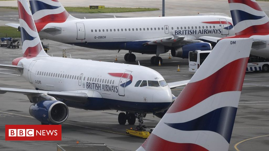 British Airways owner IAG says recovery will not be before 2023