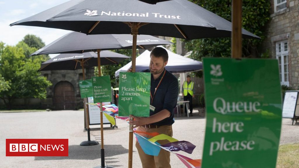 Coronavirus: National Trust redundancy plan puts 1,200 jobs at risk