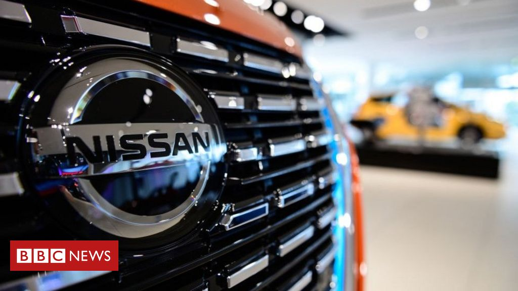 Coronavirus: Nissan shares fall 10% after record loss warning