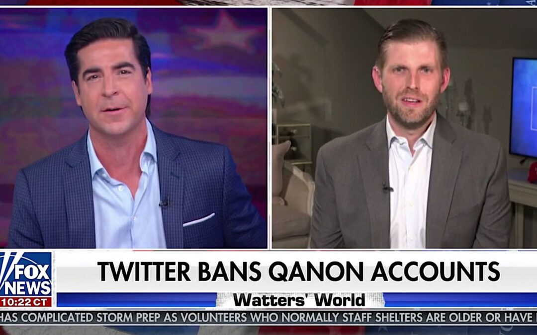 Fox News Touting QAnon Is All You Need to Know About the So-Called 'News' Network