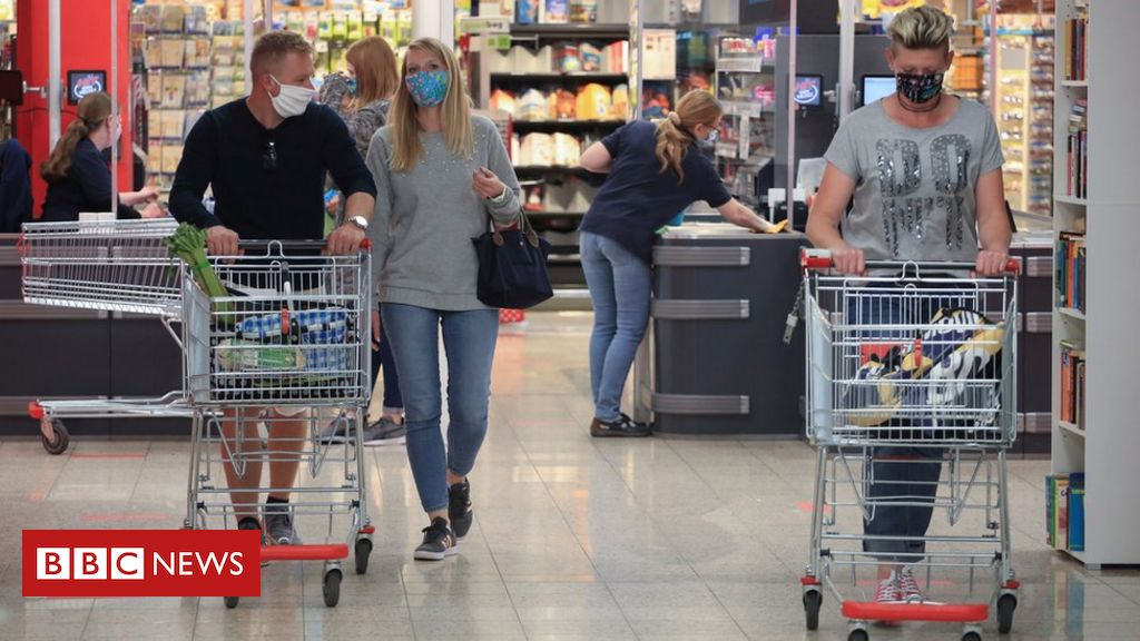 German economy sees deepest decline on record