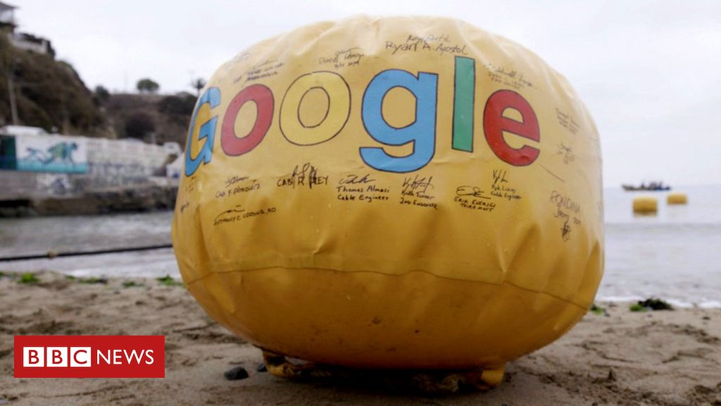 Google's new transatlantic data cable to land in Cornwall