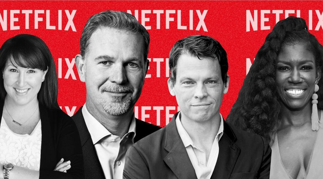Netflix's top power-player executives of 2020: org chart of leaders