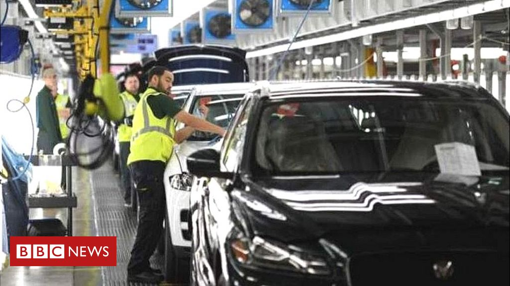 UK car production slumps to lowest level since 1954