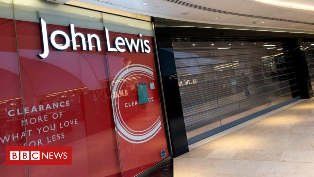 Your chance to live in a John Lewis store...sort of
