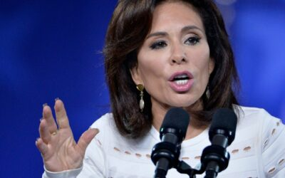 Fox News host Jeanine Pirro calls Parler backlash 'akin to a Kristallnacht' days after the deadly attempted coup on Capitol Hill