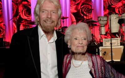 Richard Branson reveals his 89-year-old mother has died of COVID